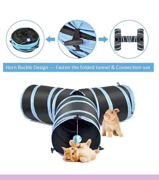 3 Túneles para gato