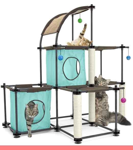 Condominio duplex para gato