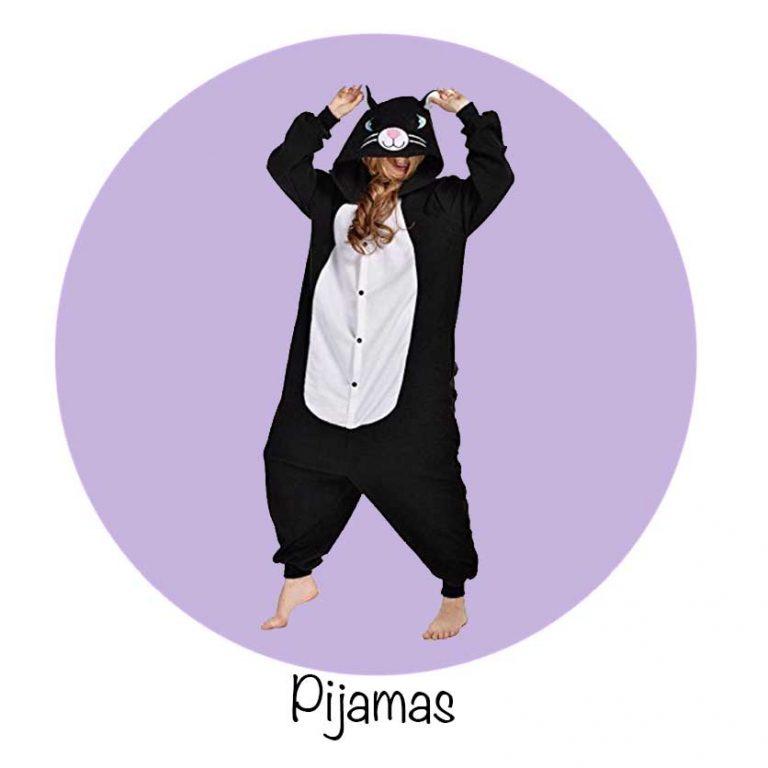Pijama de gato